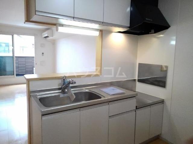 ラ・フルール 02040号室のキッチン