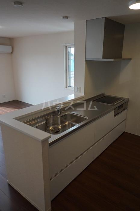 フォレストリィ 202号室のキッチン
