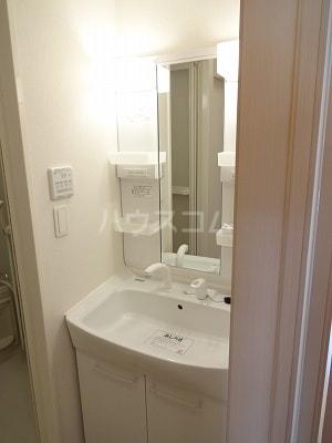 カーサⅢ 01020号室の洗面所
