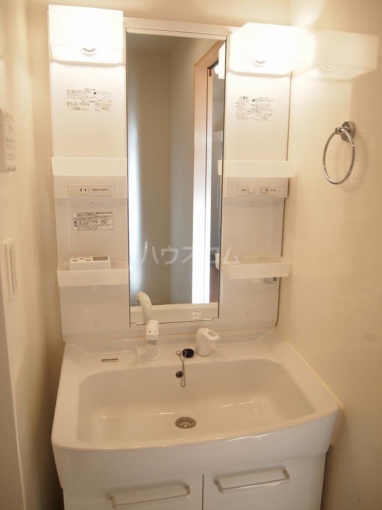サニーホームⅡ 01010号室の洗面所