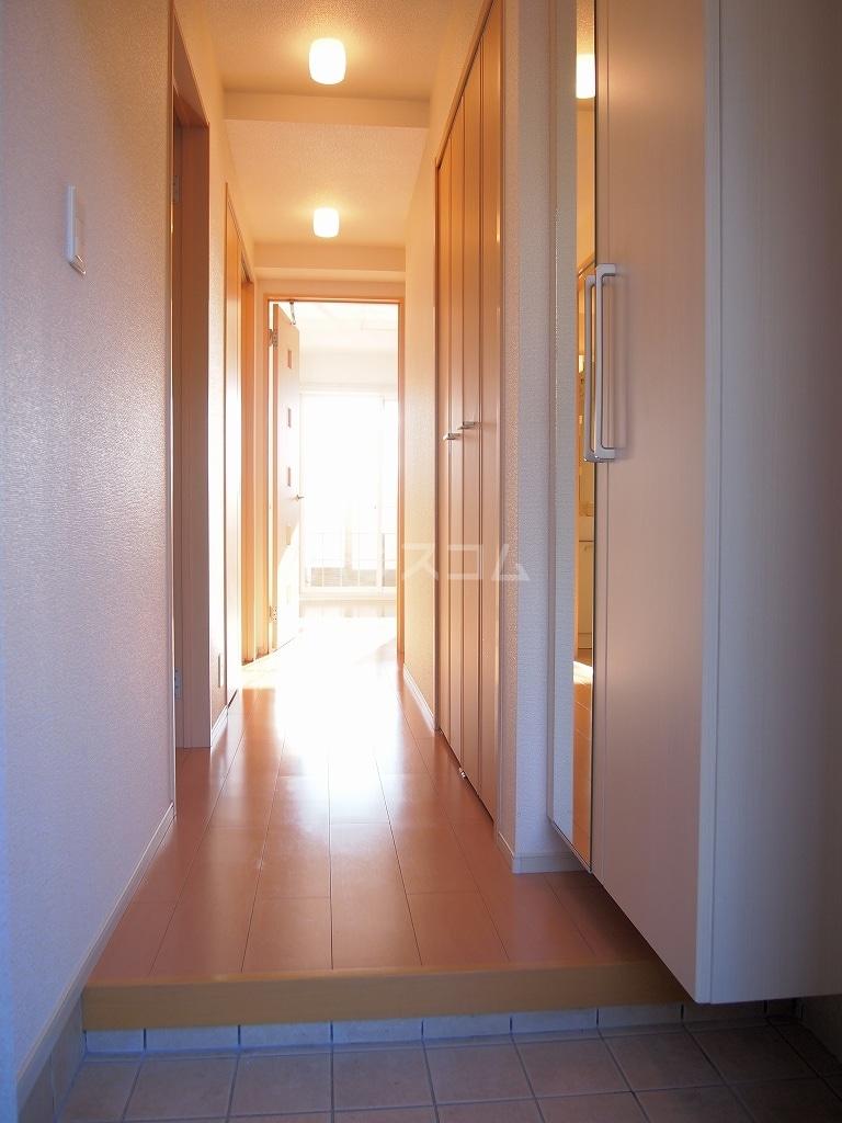 サニーホームⅡ 01010号室の玄関