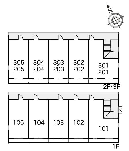 レオパレスプランドールⅡ 101号室のその他