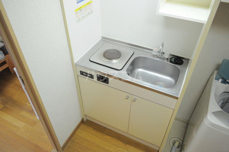 レオパレスプランドールⅡ 101号室のキッチン