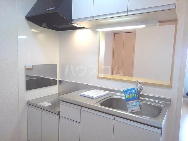 アルカンシエル 02020号室のキッチン