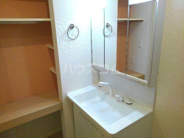 ウィンブリー 01010号室の洗面所