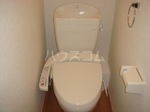 レオパレス西味鋺 206号室のトイレ
