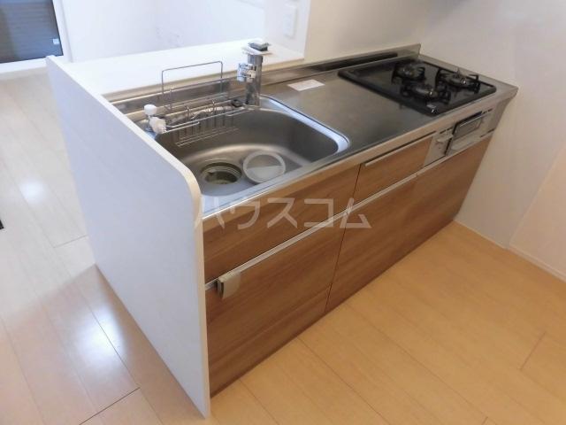 セジュールクレア 202号室のキッチン