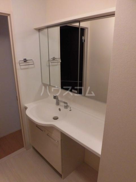 セジュールクレア 202号室の洗面所