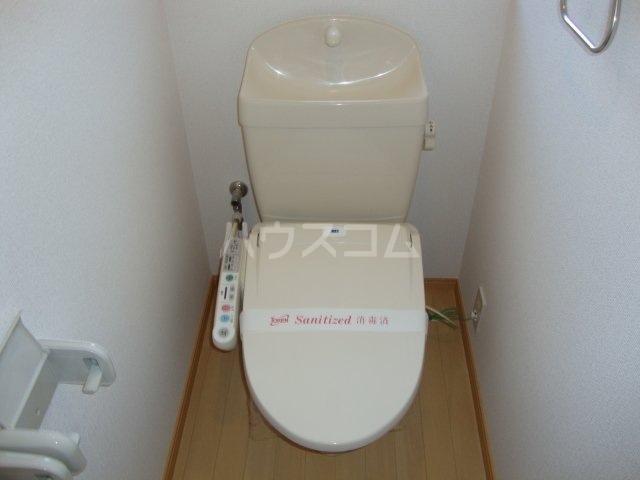 エバーハイツ 102号室のトイレ