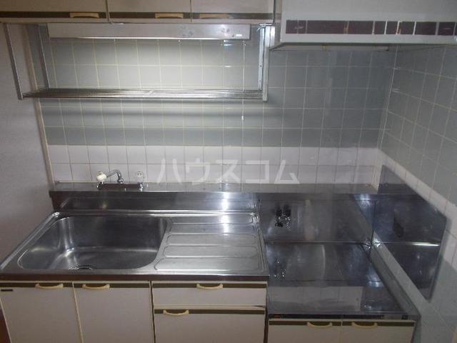 ハイツ長池上 02030号室のキッチン