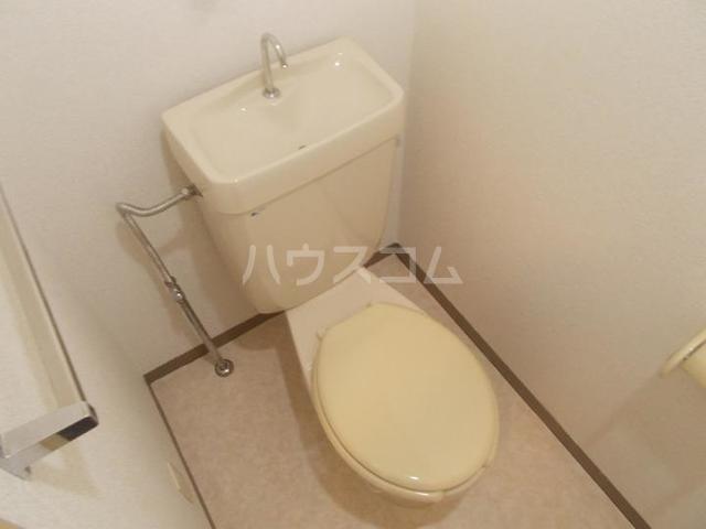 ハイツ長池上 02030号室のトイレ