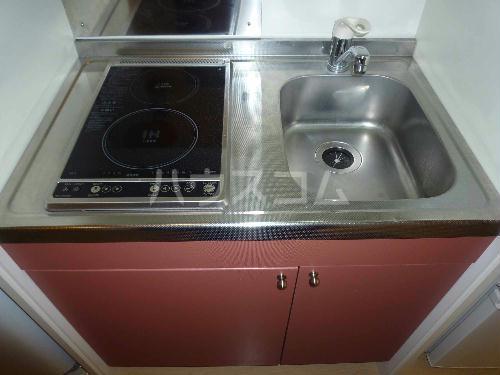 レオパレスゴールド 201号室のキッチン