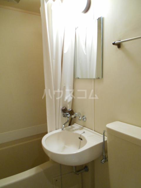 ゼフィランサス橋本 0102号室の洗面所
