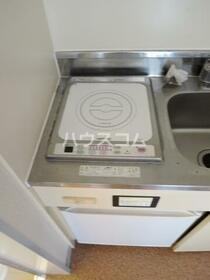 TK大岡 205号室のキッチン