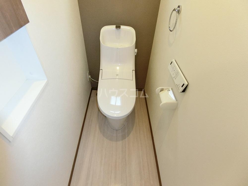 T-WEST B棟のトイレ