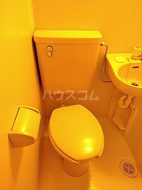 オリーブハイム 201号室のトイレ