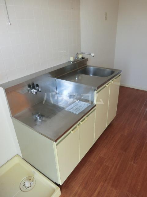 ルーラル大原 201号室のキッチン