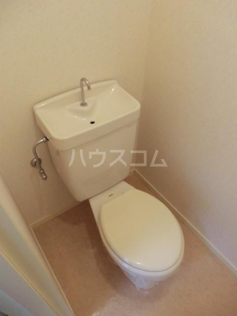 ルーラル大原 201号室のトイレ