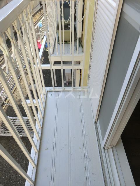 ルーラル大原 201号室のバルコニー
