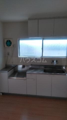 竜南コーポ 406号室のキッチン