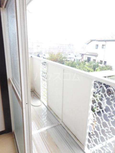 ヌーベルSANO 02010号室のバルコニー