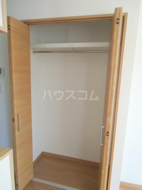 リバブル稲川 201号室の収納