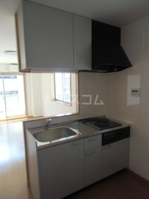 リバブル稲川 201号室のキッチン