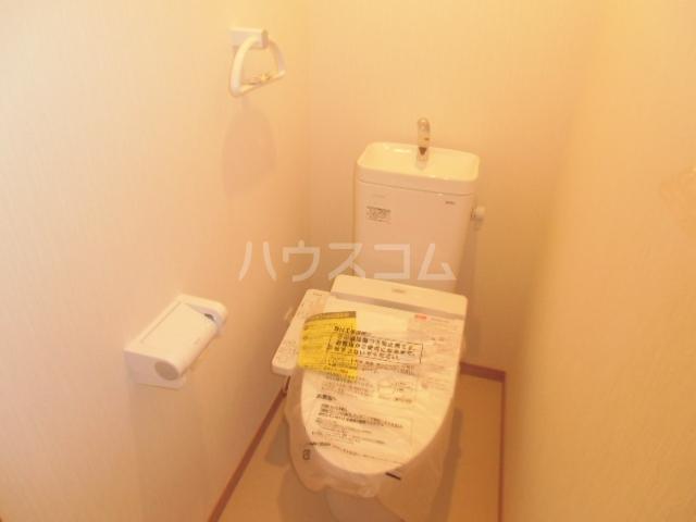 リバブル稲川 201号室のトイレ
