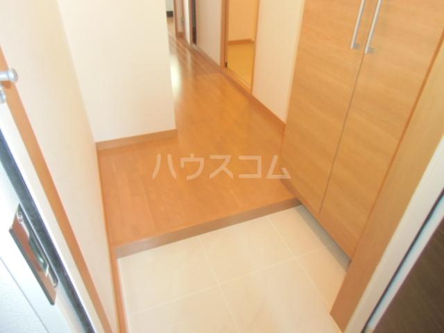 リバブル稲川 201号室の玄関