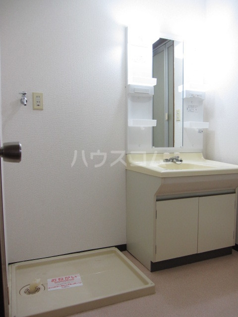 ヌーベルSANO 02030号室の洗面所