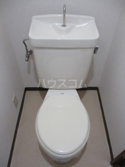ヌーベルSANO 02030号室のトイレ