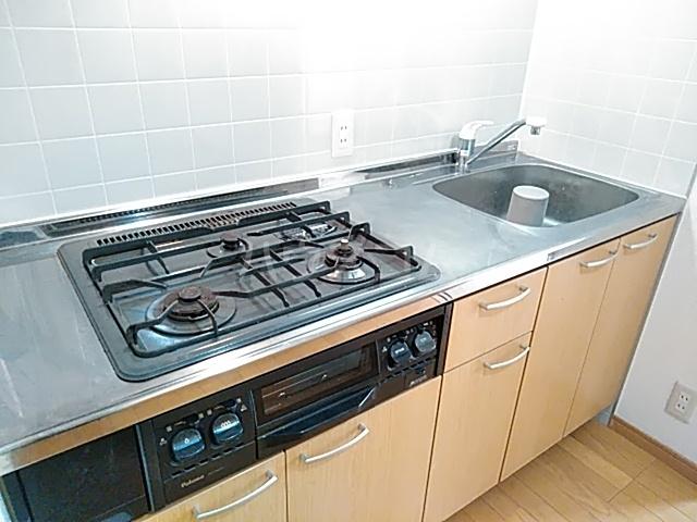 エーデルハイム神宮西 201号室のキッチン