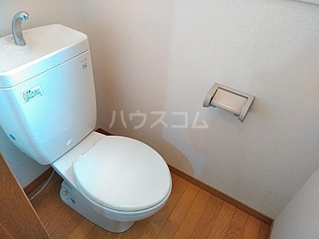 エーデルハイム神宮西 201号室のトイレ