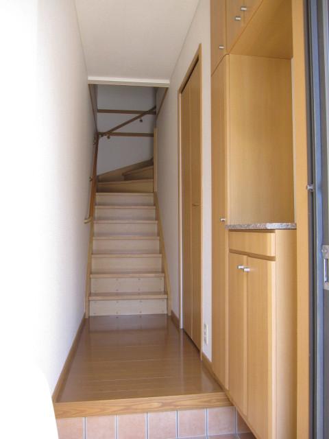 ヌフ・ソレイユ 02010号室の玄関
