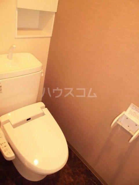 EVERGREEN 402号室のトイレ