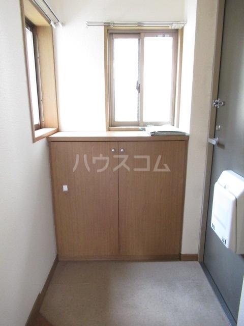 ヒットビット向ヶ丘 203号室の玄関