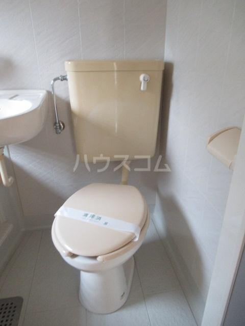 ヒットビット向ヶ丘 203号室のトイレ
