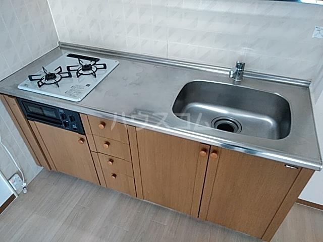 ハイカムール21 102号室のキッチン
