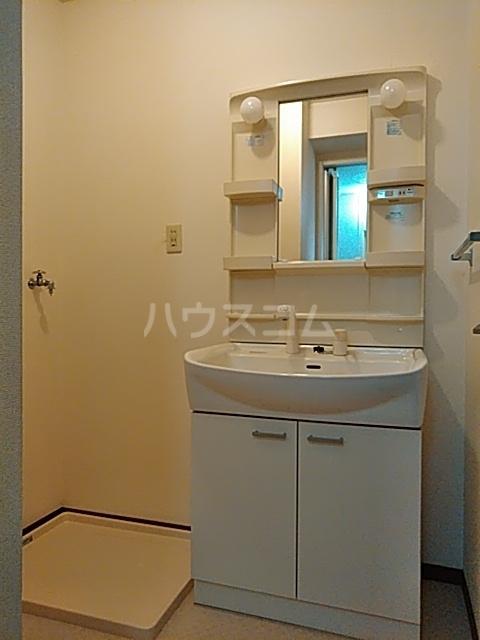 ハイカムール21 102号室の洗面所