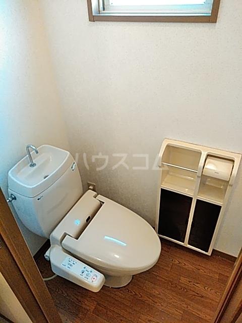 ハイカムール21 102号室のトイレ