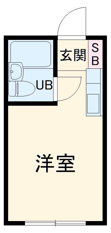 エトス江田・202号室の間取り