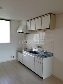 第一内藤ビル 303号室のキッチン