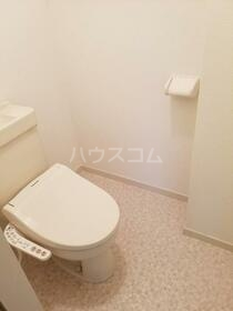 第一内藤ビル 303号室のトイレ