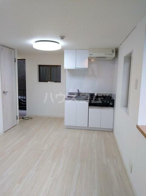 ベルエミネンス 106号室のキッチン