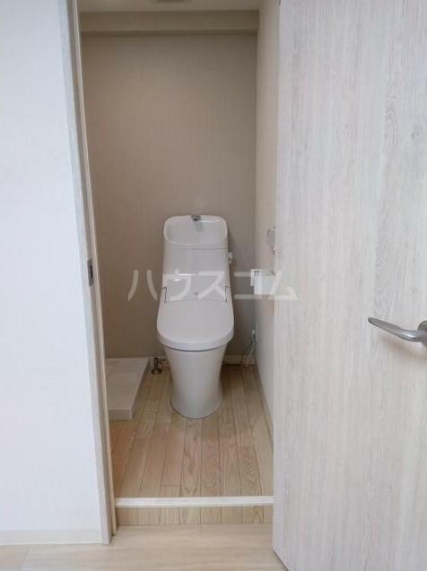 ベルエミネンス 106号室のトイレ