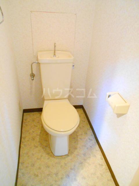 クローネ川口 205号室のトイレ