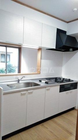 プレジール 102号室のキッチン