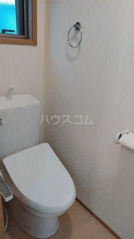 プレジール 102号室のトイレ