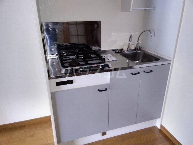 アムールグリシーヌ 201号室のキッチン