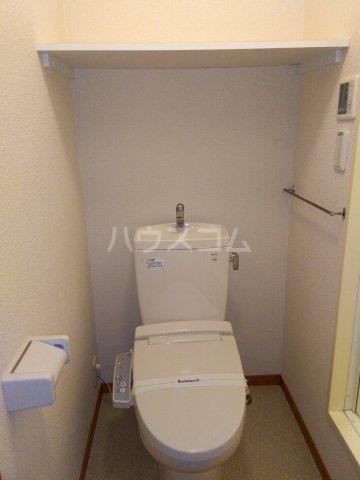 レオパレスKC 104号室のトイレ